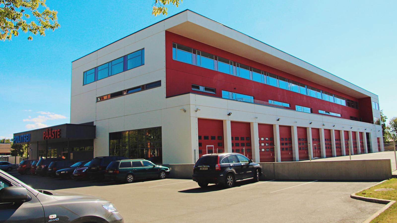 Narva Politsei – ja Päästeameti hoone