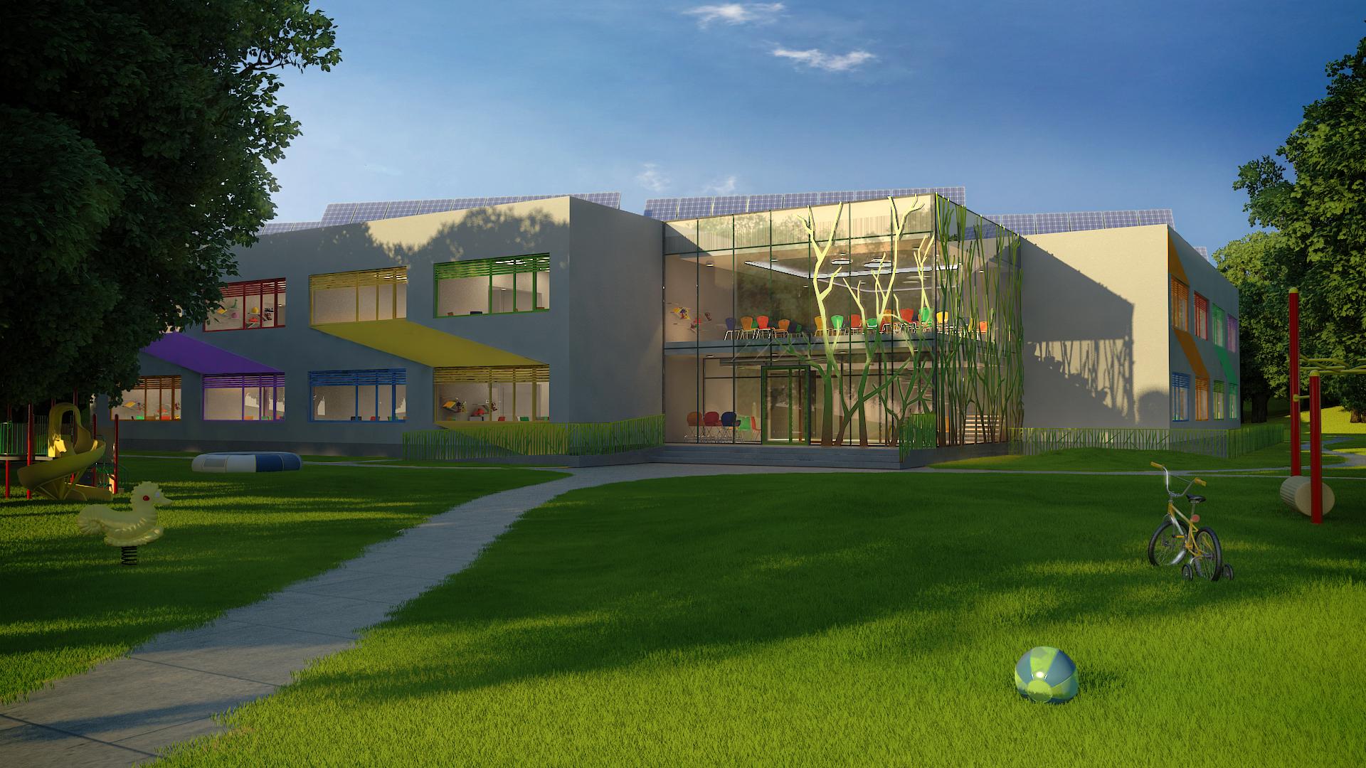 Ida-Niidu kindergarten (Kuressaare) design contest