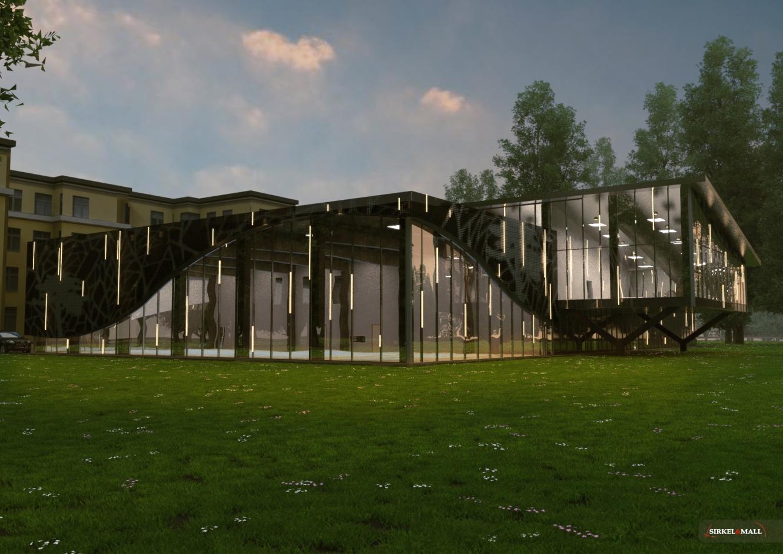 Elva sports-center conceptual design
