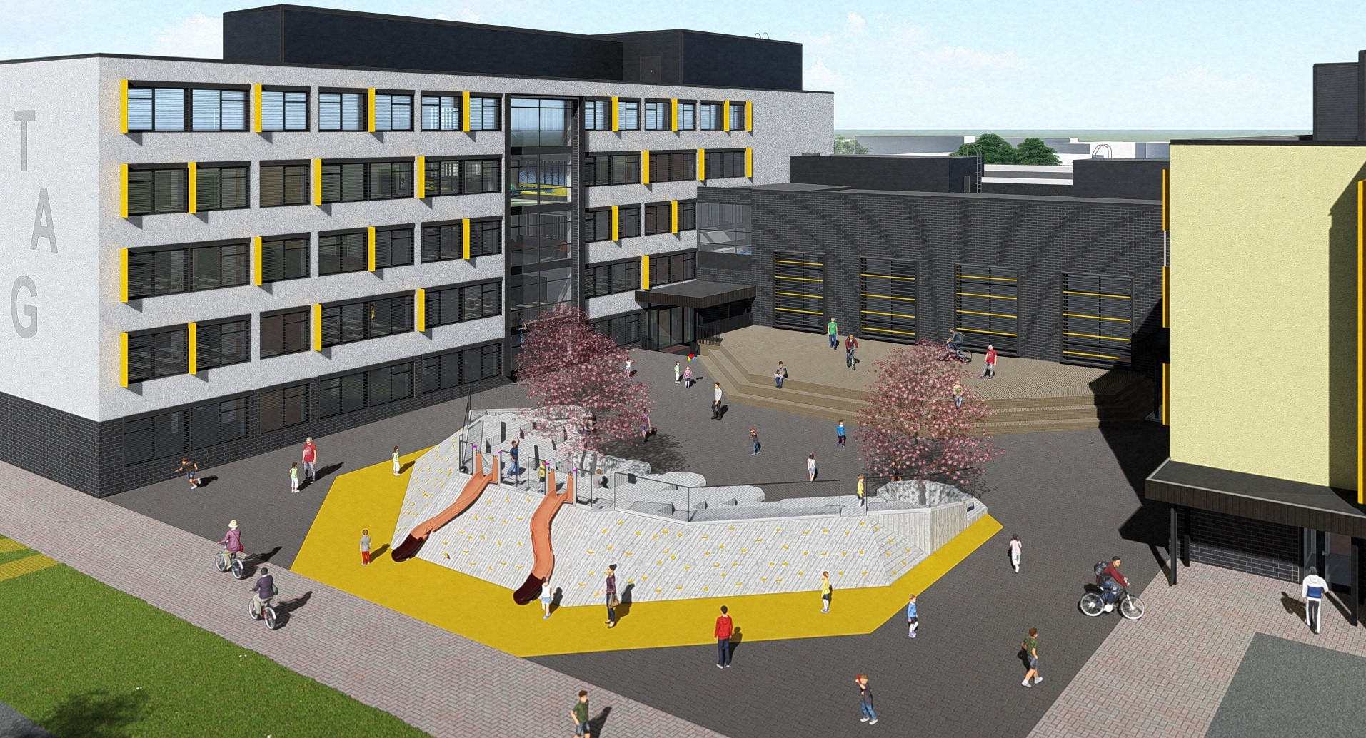Tartu Annelinna Highschool reconstruction