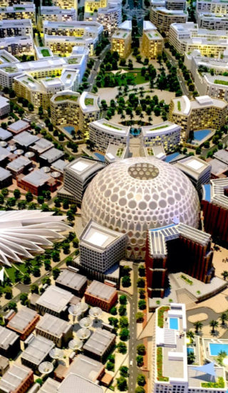 Dubai EXPO 2020 makett