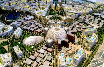 Dubai EXPO 2020 makett