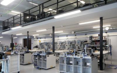 Tööstushariduskeskuse robootikalabor